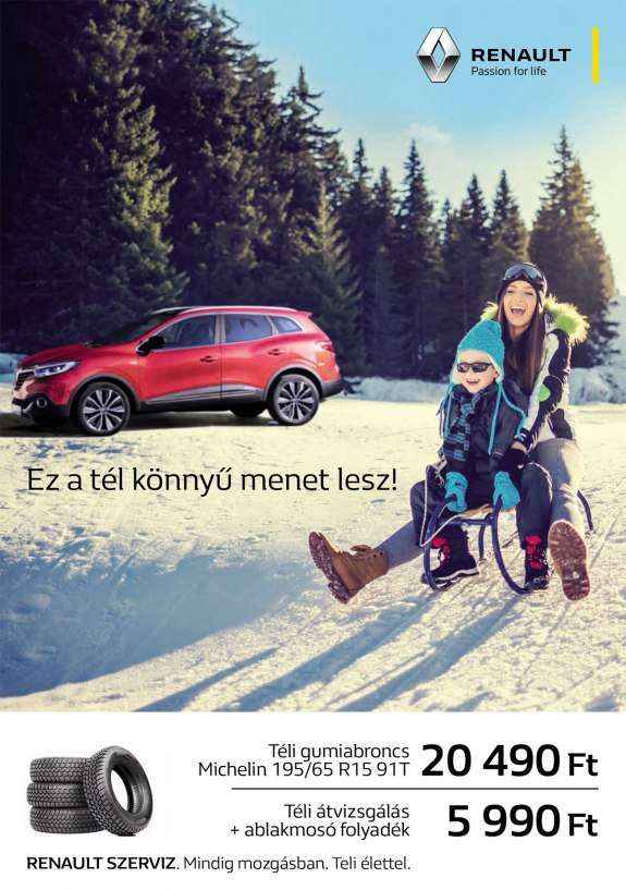 Renault téli akció